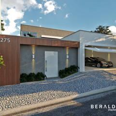 บ้านขนาดเล็ก by Beraldo Arquitetura