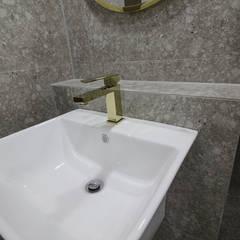 동탄인테리어 동탄역 시범마을제목없음한화꿈에그린 프레스티지 30평대아파트 모던인테리어 by.n디자인인테리어 : N디자인 인테리어의  욕실