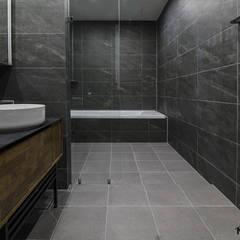 동탄메타폴리스 인테리어 50평대 주상복합 아파트인테리어 by.n디자인인테리어 에클레틱 욕실 by N디자인 인테리어 에클레틱 (Eclectic)