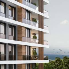 ANTE MİMARLIK  – Trend Grup Yapı:  tarz Balkon