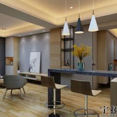 新成屋:  小廚房 by 宇拓室內設計