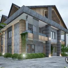 Lux Tasarım Ofisi – villa atila:  tarz Villa