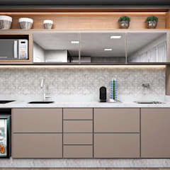 Small kitchens by Projeto 3D Online