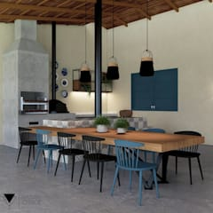 陽台 by Natusa Croce Arquitetura