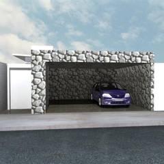 Puertas de garajes de estilo  por Summa - Soluções em Arquitetura,