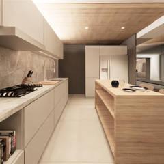 Muebles de cocinas de estilo  por Saulo Magno Arquiteto,
