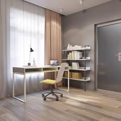 Teen bedroom by nadine buslaeva interior design,