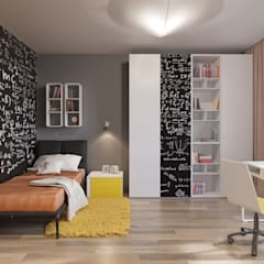 Teen bedroom by nadine buslaeva interior design,