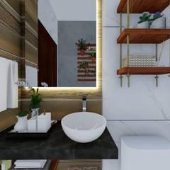 Bathroom by Ortho Arquitetura e Urbanismo