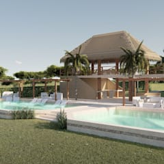 Event venues by DOMOS ARQUITECTURA S.A.S, Tropical