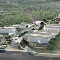 UNIVERSIDAD SERGIO ARBOLEDA SEDE BARRANQUILLA : Escuelas de estilo  por DOMOS ARQUITECTURA S.A.S,