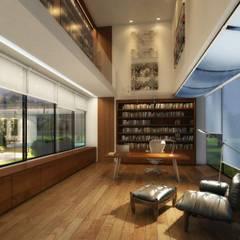توسط Viviane Cunha Arquitectura کانتری