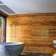 ห้องน้ำ โดย Heat Art - infrarood verwarming,