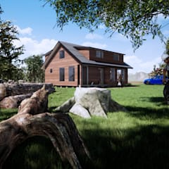 by CR.3D Modeling & Rendering Country Wood Wood effect