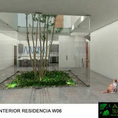 Estanques de jardín de estilo  por AIDA TRACONIS ARQUITECTOS EN MERIDA YUCATAN MEXICO,