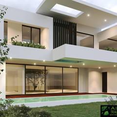 Rumah tinggal  oleh AIDA TRACONIS ARQUITECTOS EN MERIDA YUCATAN MEXICO