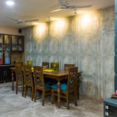 Residential Project - Bedroom:  Dining room by Taayan Designs