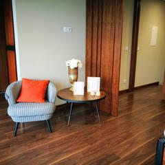 Canto de relaxe - depois :   por 7eva design  - Arquitectura e Interiores,