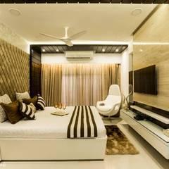 Small bedroom by Nightingale Creative Design Studio
