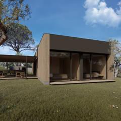 منزل خشبي تنفيذ ALESSIO LO BELLO ARCHITETTO a Palermo