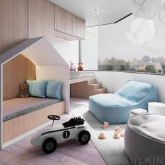 : Recámaras para bebés de estilo  por Sulkin Askenazi