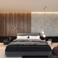: Recámaras pequeñas de estilo  por Sulkin Askenazi