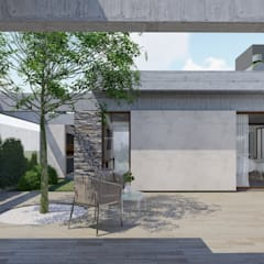 منزل سلبي تنفيذ ARBOL Arquitectos  , ريفي