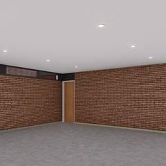 CASA HD: Garajes de estilo  por ARBOL Arquitectos ,Minimalista
