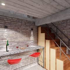 Wine cellar by ARBOL Arquitectos