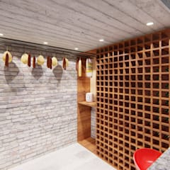 Wine cellar by ARBOL Arquitectos , Rustic