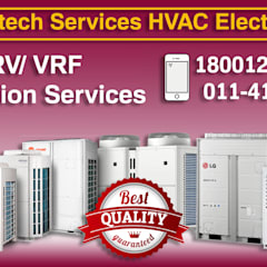VRV/ VRF Installation Services in Delhi/NCR, India:  Offices & stores by VRF / VRV AC Dealers in Delhi/NCR,India