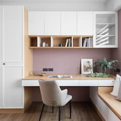 Study/office by 禾光室內裝修設計 ─ Her Guang Design