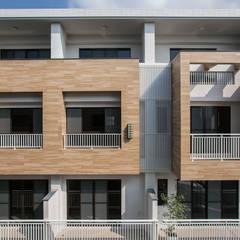منازل التراس تنفيذ 木介空間設計 MUJIE Design