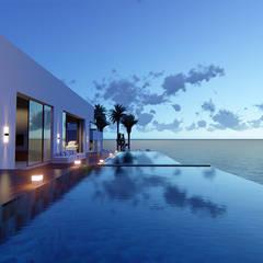 無邊際泳池 by orden arquitectura & diseño