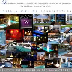 Projekty,  Basen do ogrodu zaprojektowane przez AQUAENTORNOS