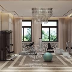Дизайн-студия элитных интерьеров Анжелики Прудниковой의  피트니스