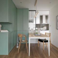اتاق غذاخوری by 寓子設計