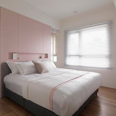 غرفة نوم تنفيذ 寓子設計,