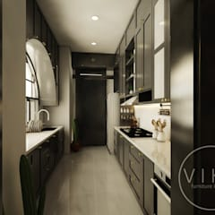 Kitchen set & interior :  Dapur built in by viku