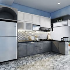 Kitchen set & interior :  Unit dapur by viku
