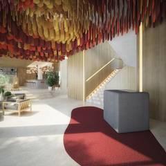 โรงแรม by Piedra Papel Tijera Interiorismo