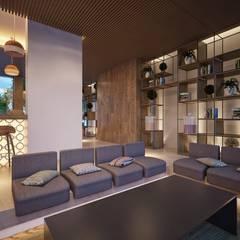 Hotel Estambul: Hoteles de estilo  de Piedra Papel Tijera Interiorismo, Mediterráneo