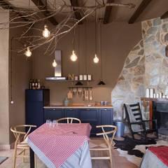 Bodegas de vino de estilo  por Piedra Papel Tijera Interiorismo,