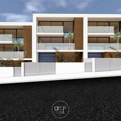 Loteamento Paulo Sarmento: Casas  por arcq.o | arquitecto rui costa,Moderno