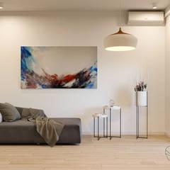 Дизайн інтер'єру двокімнатної квартири в стилі мінімалізм, Київ :  Кухня by Марина Янченкова,