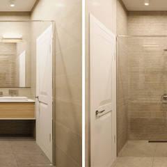 Дизайн інтер'єру двокімнатної квартири в стилі мінімалізм, Київ :  Вбиральня by Марина Янченкова