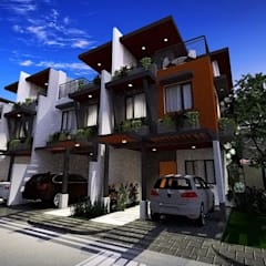 7-Unit Townhouse Project:  Townhouse by Structura Architects