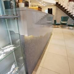 """Шоурум """"Числа"""": Выставочные центры в . Автор – дизайн-группа 'Лестница',"""