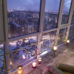 Balkon door дизайн-группа 'Лестница', Mediterraan