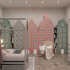 Girls Bedroom by 3D GROUP, Classic